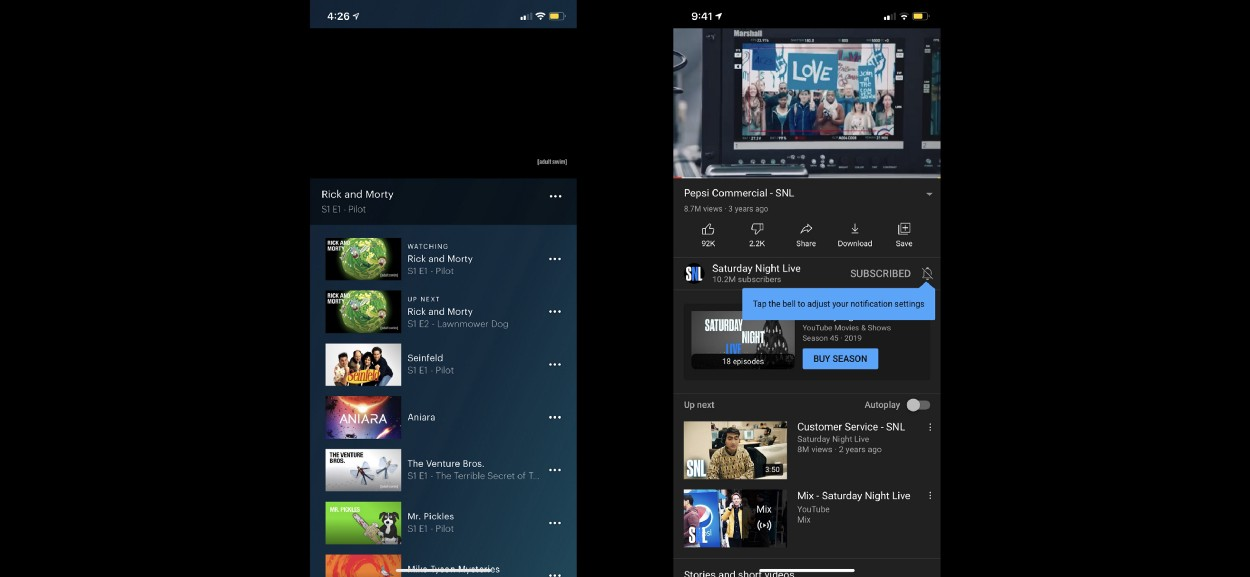 Experience in Detail: UX Analysis of Streaming Services