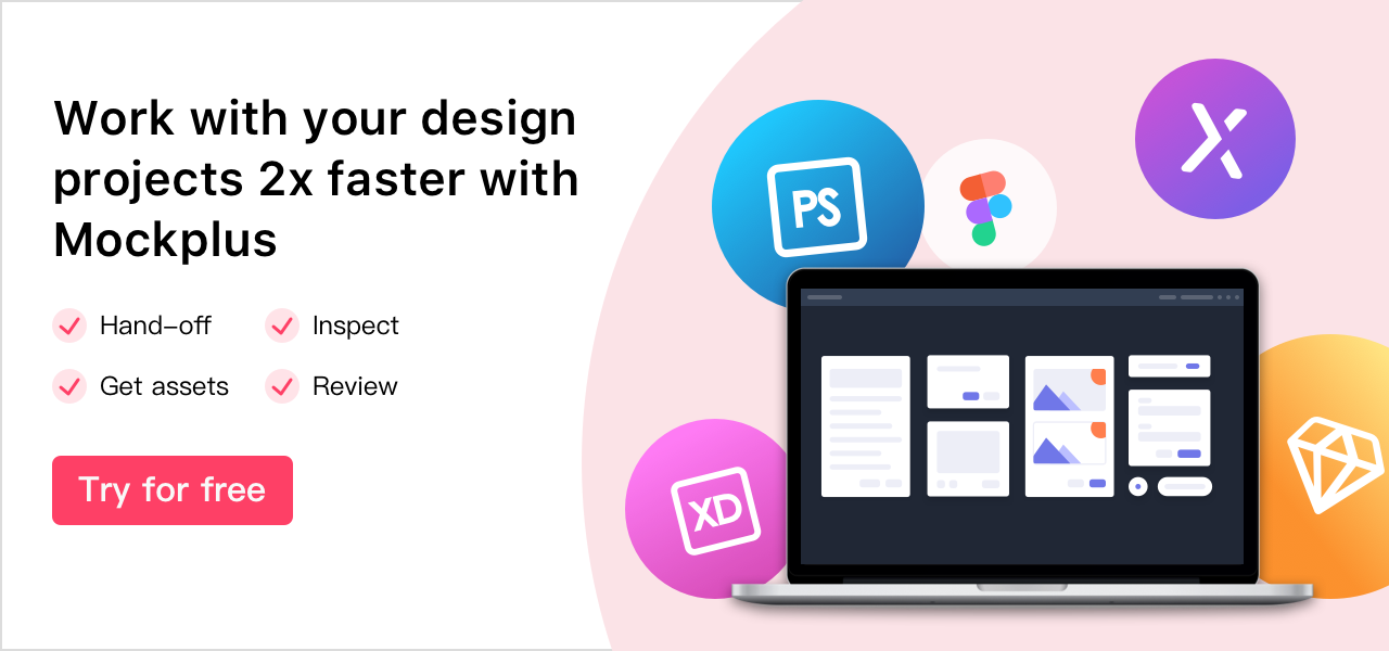Create your designs 2x faster with Mockplus