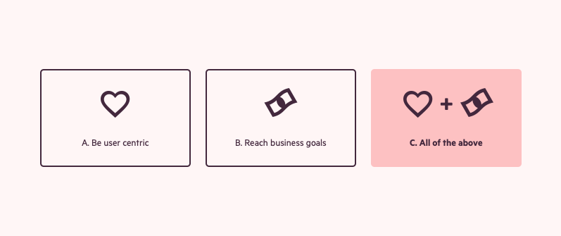User experience vs. Business goals: finding balance